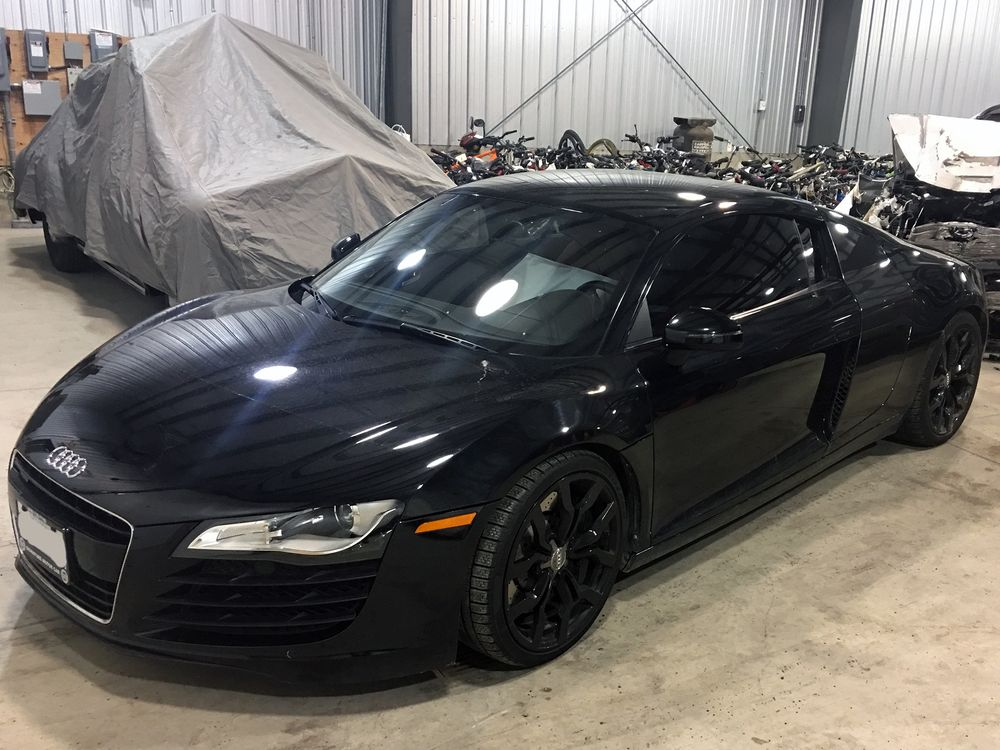 Chris Uitvlugt's Audi R8 seized during the Next Level Investments investigation.