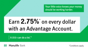 Manulife Bank 2.75% Promotion