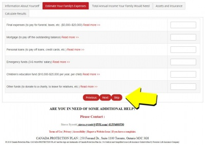 Online Life Insurance Application