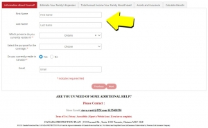 Online Insurance Application